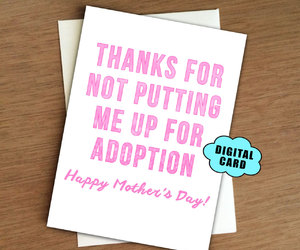 mother's day and mothers day card image