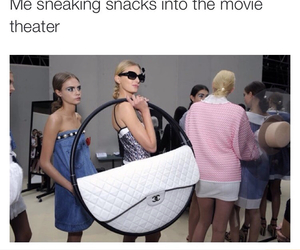 funny, snack, and movie image