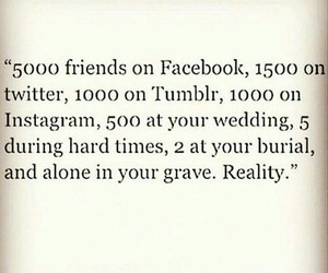 social media, fake people, and relatable image