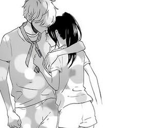 manga, couple, and hirunaka no ryuusei image
