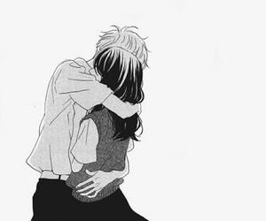 manga, couple, and love image