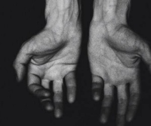 arms, veins, and black and white image