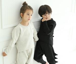 fashion, kids, and korean image