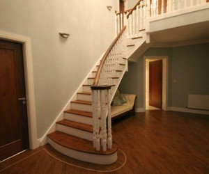 circular staircase, spiral stairs, and spiral staircases image