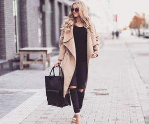 outfit, girl, and hair image
