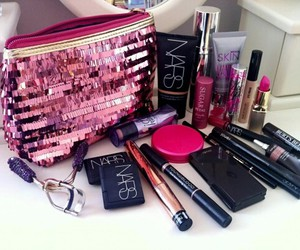 makeup, nars, and pink image