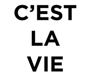 quote, french, and life image
