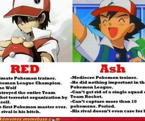 pokemon, red, and ash image