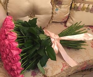 rose, pink, and beautiful image