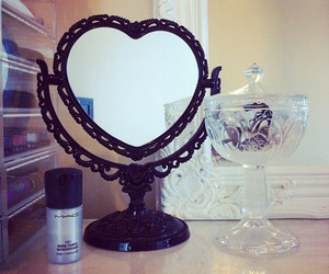 mirror and makeup image
