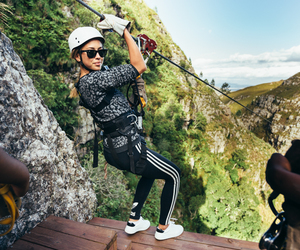 girl, fashion, and mountains image
