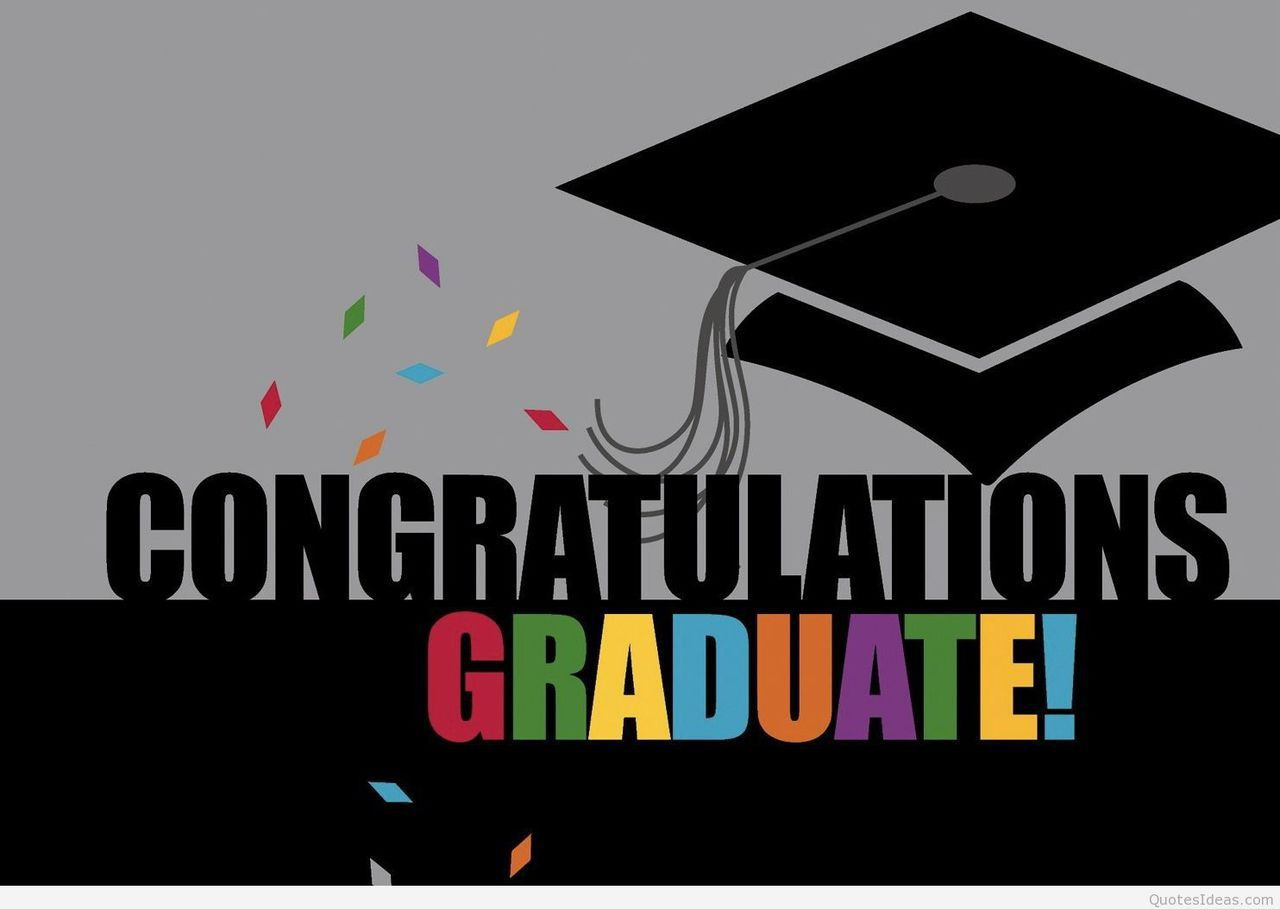congratulations graduate quote hd discovered by quotesideas
