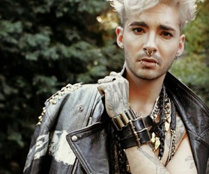 bill kaulitz, blonde, and handsome image