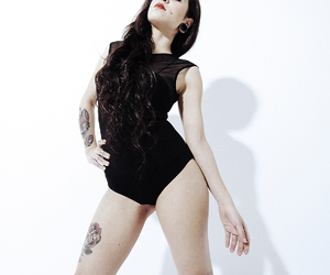 tattooed, tattos, and altmodel image
