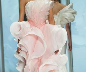 beautiful, dress, and pink image
