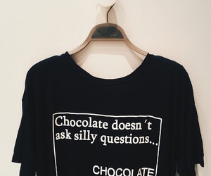 fashion, style, and chocolate image