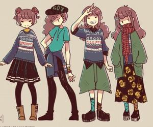anime, girl, and aki chan image