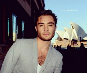 actor, handsome, and ed westwick image