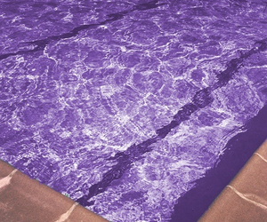 purple, pool, and water image