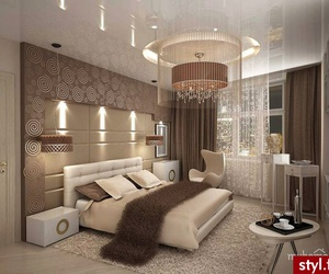 bed, luxury, and villa image