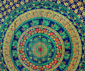 tapestry, wall hanging, and dorm tapestry image
