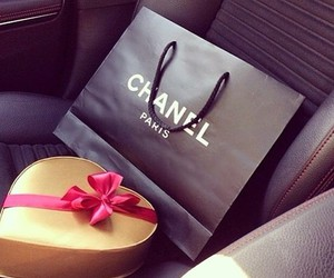 chanel, car, and gift image
