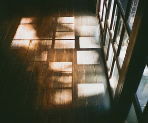 light, vintage, and window image