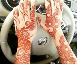 arabic, henna, and beautiful image
