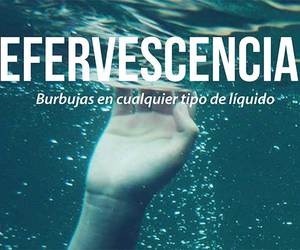 bubbles, efervescencia, and words image