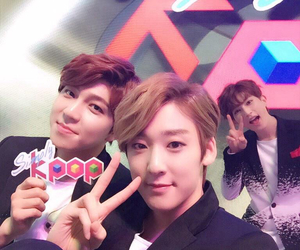 kevin, ukiss, and kiseop image