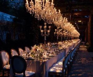 amazing, Tables, and wedding image