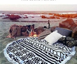 awesome, beach, and pillows image