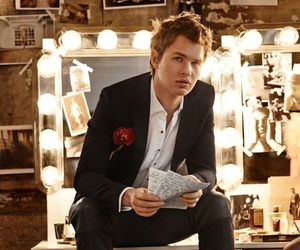 ansel elgort and Teen Vogue image