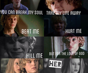 ahs, american horror story, and love image