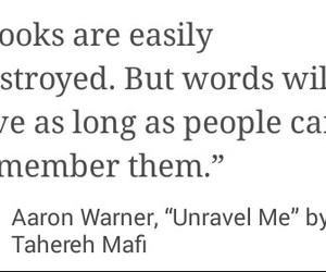 books, mine, and unravel me image