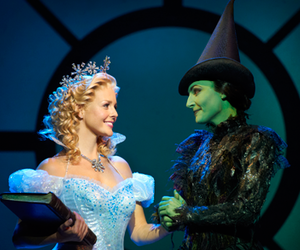 glinda and wicked image