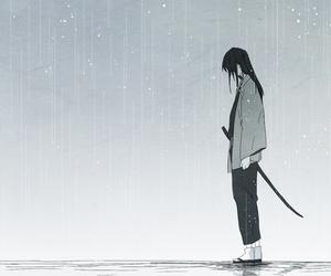 anime, gintama, and katsura image