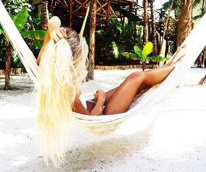 beach, inspiration, and long hair image