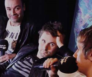 Matt Bellamy, muse, and dom howard image