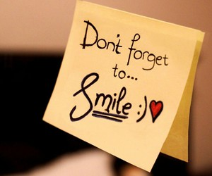 forget, smile, and wallpaper image