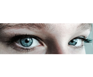 girl and yeux image