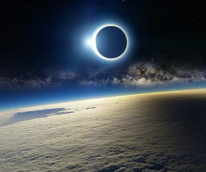 earth, wallpaper, and eclipse image