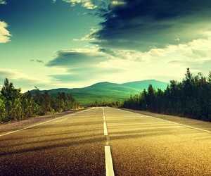 beautiful, road, and wallpapers image