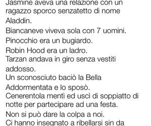 frasi italiane, frasi belle, and frasi disney image
