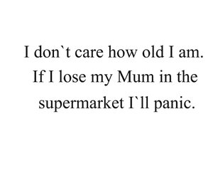 mum, supermarket, and funny image