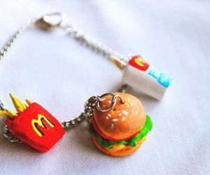 food, McDonalds, and bracelet image