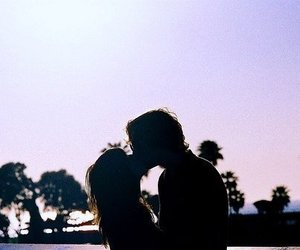 love and love kiss friends image
