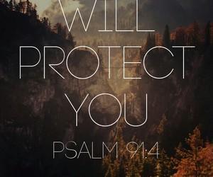 god, jesus, and protect image