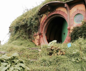 the hobbit, the shire, and hobbiton image