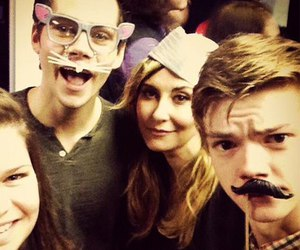 dylan o'brien, the maze runner, and thomas sangster image